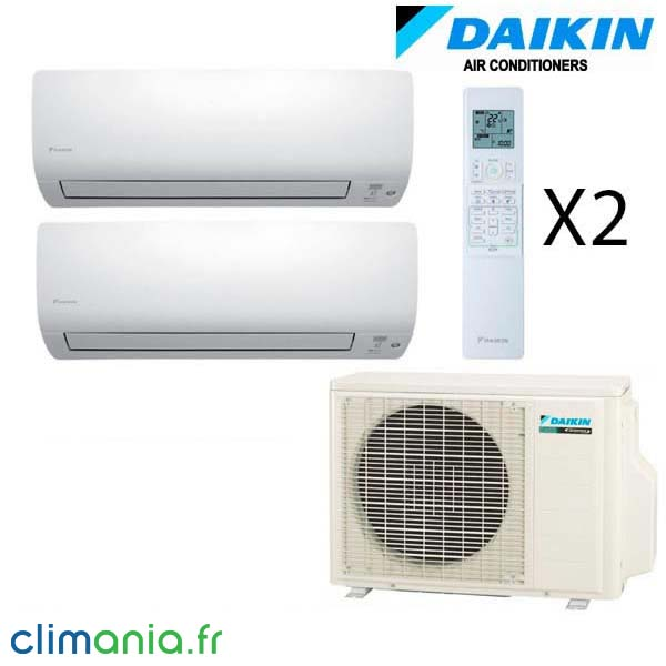 daikin climatiseur bi split r versible 2mxs40h 2 ftxs20k. Black Bedroom Furniture Sets. Home Design Ideas