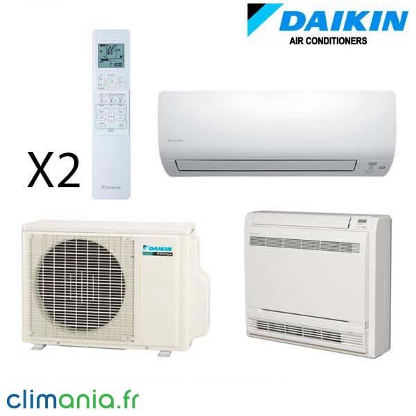 Climatisation Daikin Bi split reversible