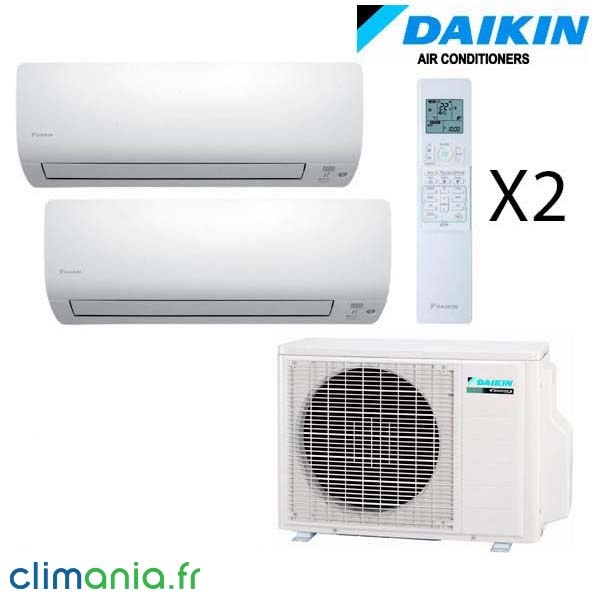 daikin bi split r versible 2mxs50h 2 ftxs25k climatiseur. Black Bedroom Furniture Sets. Home Design Ideas